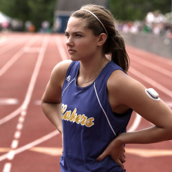 Maine track, field star to testify before Senate committee