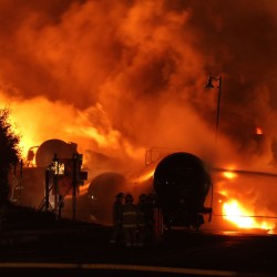 Canadian Senate urges minimum insurance levels for railways in wake of Lac-Megantic disaster