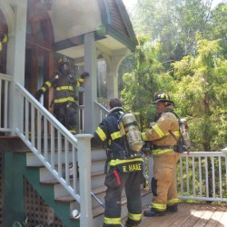Three-alarm blaze damages home on Balsam Lane in Freeport