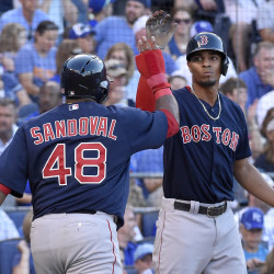 Lester sharp again as surging Red Sox blank Royals