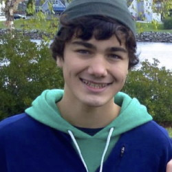 Diego Grossmann, 17, a recent graduate of John Bapst Memorial High School, is taking a gap year to volunteer with the organization World Wide Opportunities on Organic Farms.