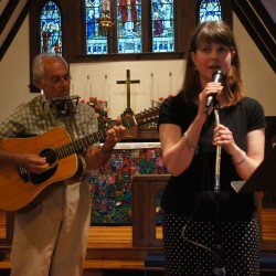 "Kristen Burkholder sings ""Suzanne"" accompanied by John Ineson"