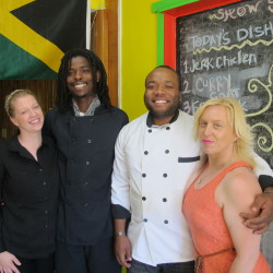 Down East dining with Jamaican flair, at small Steuben eatery