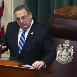 LePage pledges more tax cuts as Tax Foundation says Maine's rating improves