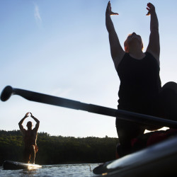 'Yoga saved my life': Hundreds flock to Maine Yoga Fest