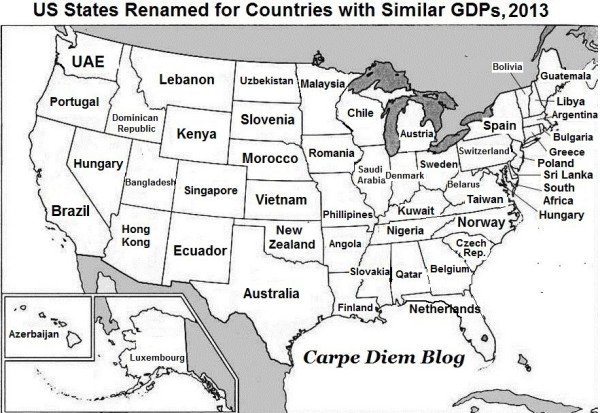 This Map Shows What Maines Economy Has In Common With Guatemala - Sweden maine map