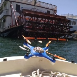A San Diego company launched a Kickstarter to produce waterproof drones that have detachable fish finders.