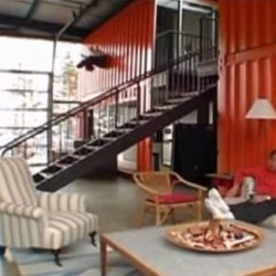 Home sweet houseboat: Recycled shipping containers enliven Belfast waterfront