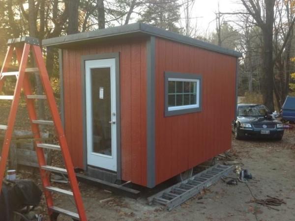 tiny houses portland. Why Pay Portland Rent When You Can Build A Tiny House? \u2014 Homestead Bangor Daily News BDN Maine Houses