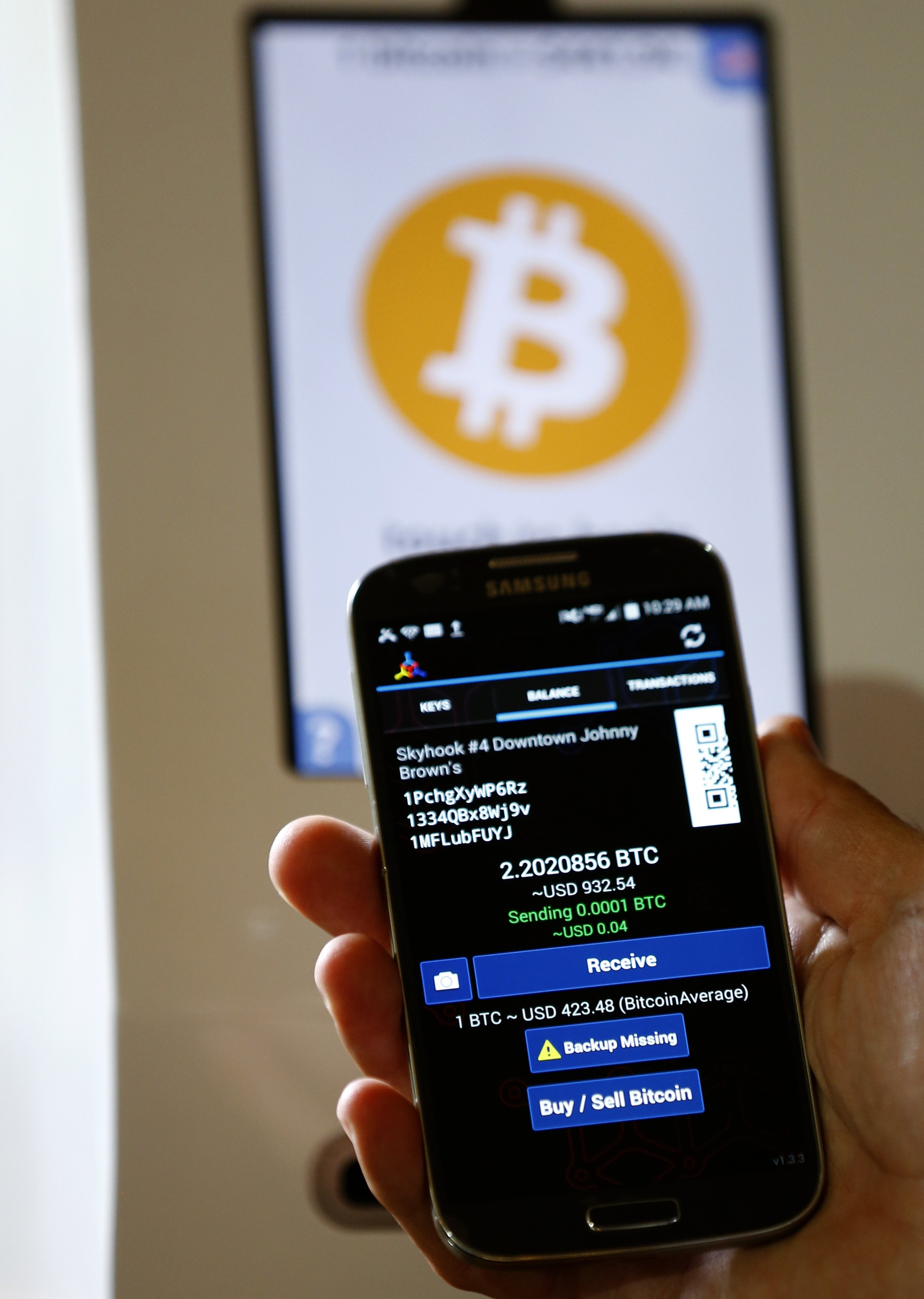 Bitcoin When Does It Make Sense To Trade Real Dollars For Virtual Money Business Bangor Daily News BDN Maine