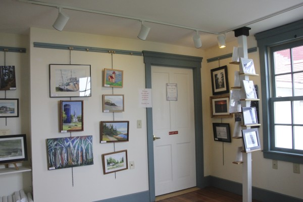 A gallery of works by local artists is one of the many parts of the West Quoddy Head Light Station experience.