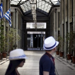 S&P warns bank plan would cause Greek default