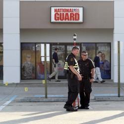 National Guard shooting suspect faced job loss, discipline