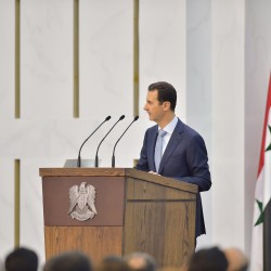 Syria's Assad says war turning in his favor