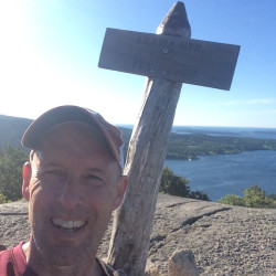 College of the Atlantic president to hike, swim across MDI