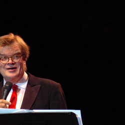 Book Talk: Garrison Keillor says he still has 'distance to cover'