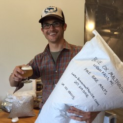 Maine brothers working to be malt suppliers for beer economy