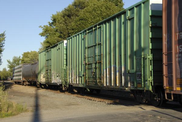 Bankrupt railroad seeks to dump rail tie yard in Hermon — Bangor