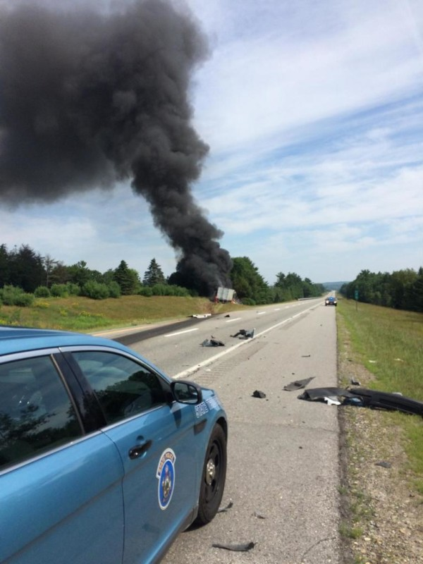 Truck driver cited in crash that injured state trooper for Department of motor vehicles bangor maine
