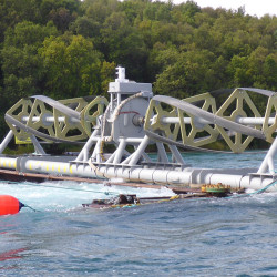 Maine tidal power company completes tests of river technology