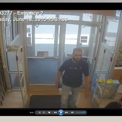 Hampden police seek burglary, theft suspect