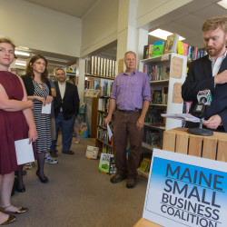 Maine small-business owners report 'upbeat' market at harvest festival in Bangor