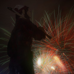 Fourth of July fireworks go off in Bangor in this July 2014 file photo.
