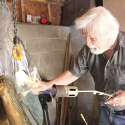Eastport artist establishes bronze foundry