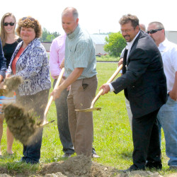 Fort Fairfield breaks ground on new health center
