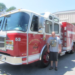 Veazie gives Beddington a used fire truck
