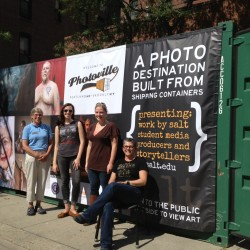 Unusual art exhibit — Photoville ME — lands in downtown Portland