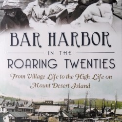 Jack Perkins at Bar Harbor library June 8