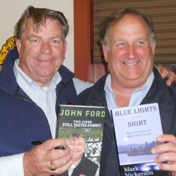 John Ford,Sr. and Mark Nickerson will speak at the Belfast Free Library Tuesday July 21 at 6:30.