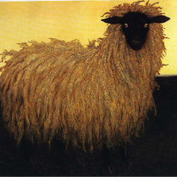 """Portrait of Lady"" a beautiful giclee by Jamie Wyeth with a special remarque is a part of Herring Gut's auction this year."