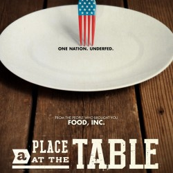 A Place at the Table documentary from Jeff Bridges' End Hunger Network, to be shown and discussed August 13th at Camden Public Library.