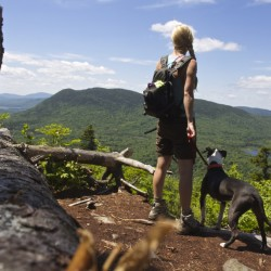Laurie's Ledge on Indian Mountain
