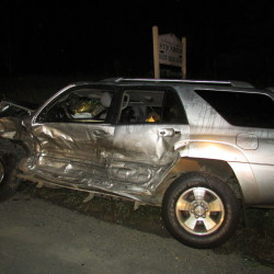 Crash on Route 11 sends two motorists to hospital