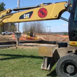 Summit Natural Gas will construct 85 percent of the infrastructure it had planned to build this year in Cumberland, where ground was broken for pipe installation in 2014, Falmouth, and Yarmouth.