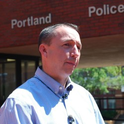 """We want victims to come forward,"" Portland Police Chief Michael Sauschuck said Aug. 14, after a woman who claimed she was sexually assaulted Aug. 12 on the Back Cove Trail recanted her story."