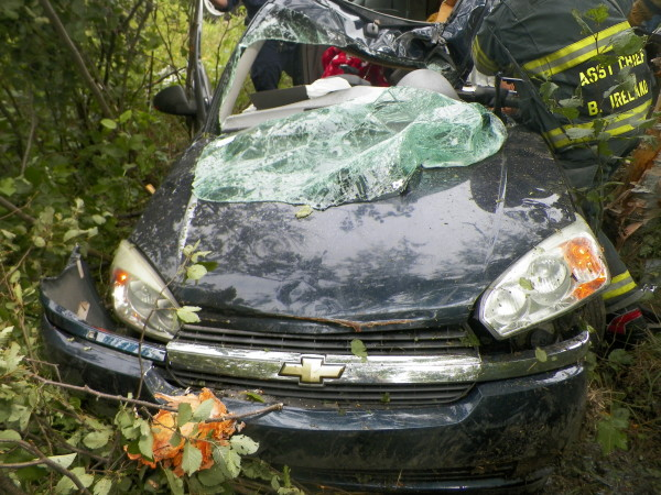 One dead, two injured in Topsfield crash — Down East