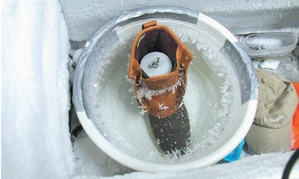 Boots in ice, furniture on the roof: Inside L.L. Bean's testing lab