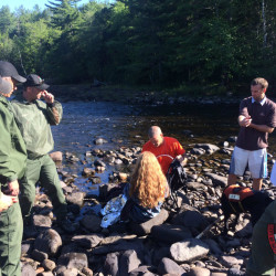Searchers recover body of man reportedly swept over Saccarappa Falls in Presumpscot River