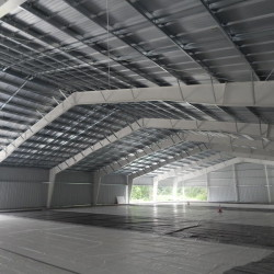 The pavilion-style Casco Bay Arena in Falmouth is intended to provide affordable ice time at peak hours for hockey players.