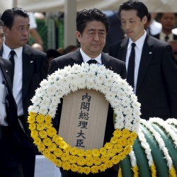 Japan, China, S. Korea stir old resentments on war anniversary