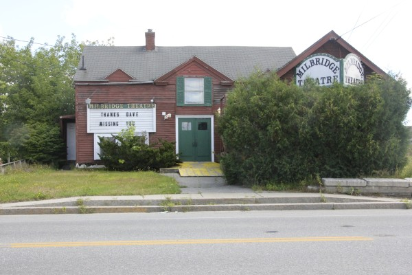 The Milbridge Theatre has been empty since the December 2014 death of owner Dave Parsons. A group is raising money to buy the movie house and turn it into a community theater.