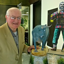 Paul Bunyan statue designer wants to add Babe the Blue Ox to Bangor landmark
