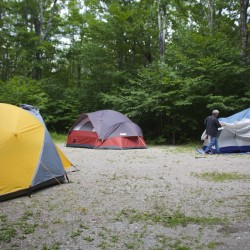 It's a simple deal, folks: Don't trash any campsites