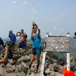 Runner faces fine for 'corporate event' atop Katahdin
