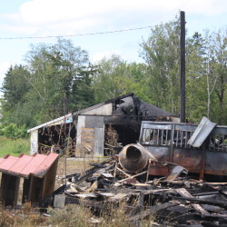 Presque Isle firefighters called to permitted burn that grew out of control