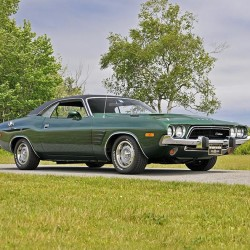 This beautiful 1974 Dodge Challenger Rallye is one of a fantastic selection of muscle cars that will cross the block on August 22, 2015 at the Owls Head Transportation Museum's 38th Annual New England Auto Auction™.